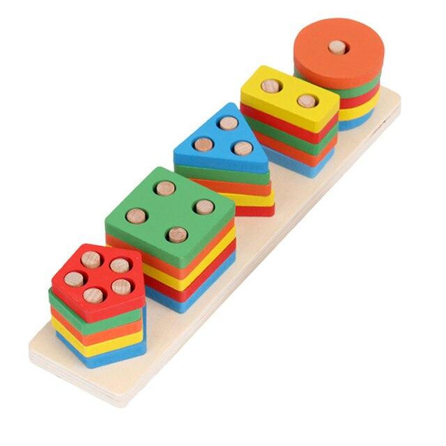 Juguetes Aprendizaje Niños Formación Mini Colorido Juego Formas Geométricas Tamaño Intelectual Práctico Desarrollo Preescolar Para Educativo N8wymnv0OP