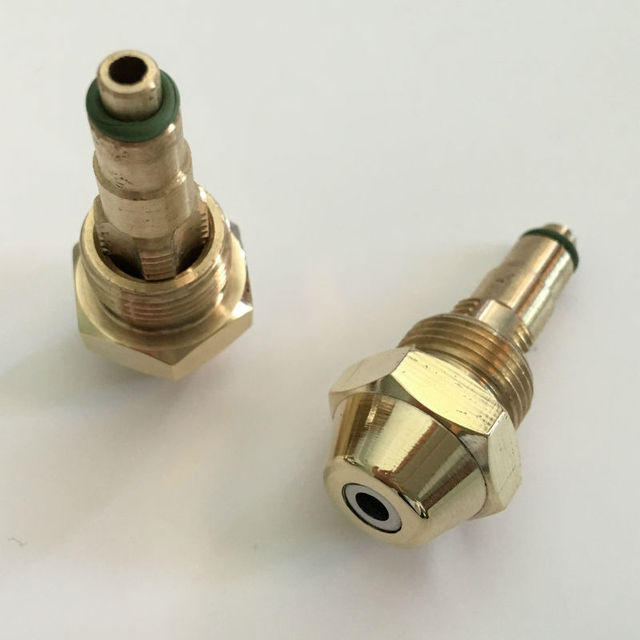 1.0mm 2.0mm 2.5mm Fuel nozzle siphon air atomizing nozzle waste oil nozzle,Siphone Full Cone or Hollow Cone Oil Nozzle