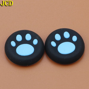 Image 3 - JCD 2pcs Silicone Analog Joystick Grips Cap for Sony PlayStation 4 for PS4 Controller Cat Claw Joystick Cover