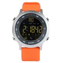 EX18 Xwatch Смарт Часы Спорт Bluetooth 4.0 5ATM Водонепроницаемый IP67 Smartwatch Браслет Секундомер Будильник для IOS и Android