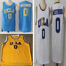 ФОТО 2018 dwayne mens russell westbrook #0 ucla bruins blue stitched basketball jersey size s-xxl
