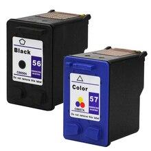 Для hp 56 57 картридж для HP56 57 Deskjet 5150 450CI 5550 5650 7760 9650 psc 1315 1350 2110 2210 2410 принтера