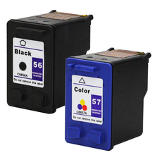 For HP 56 57 Ink Cartridge for HP56 57 Deskjet 5150 450CI 5550 5650 7760 9650 PSC 1315 1350 2110 2210 2410 printer(China)