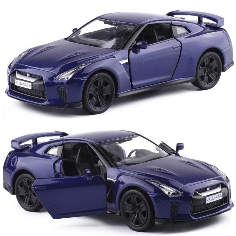 4 Colors 1:36 Alloy Car Die Casting Model For Nissan GTR