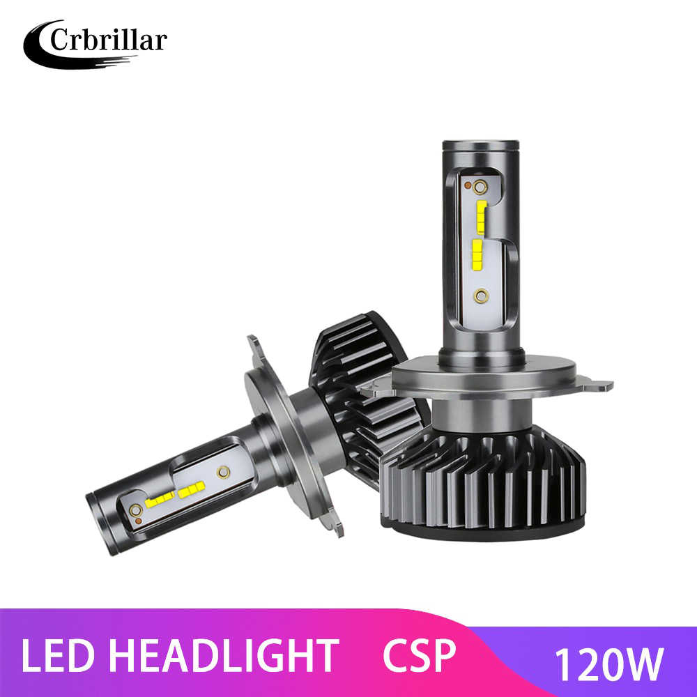 Mini LED Headlight Bulbs for Cars H1 H4 H7 H11 9005 9006 csp Chip Lamps Car Fog Lights 16000LM 6500K Day Night Running Lights
