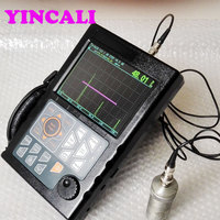 Portable NDT Digital Ultrasonic Flaw Detector YFD300 Automated Calibration Automated Gain Big memory of 1000 A graph