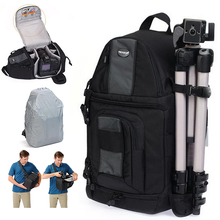Быстрый Доступ SlingShot 202 AW Фотоаппарат Слинг Сумка Штатив Сумка DSLR Цифровые ЗЕРКАЛЬНЫЕ Рюкзак для Nikon D700 Canon 5D