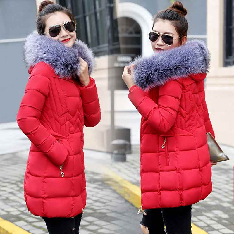 b4ff09acae6 Winter Jacket Women Plus size 2018 New Ukraine 6XL Womens Down Cotton  Thicker jackets Hooded Winter