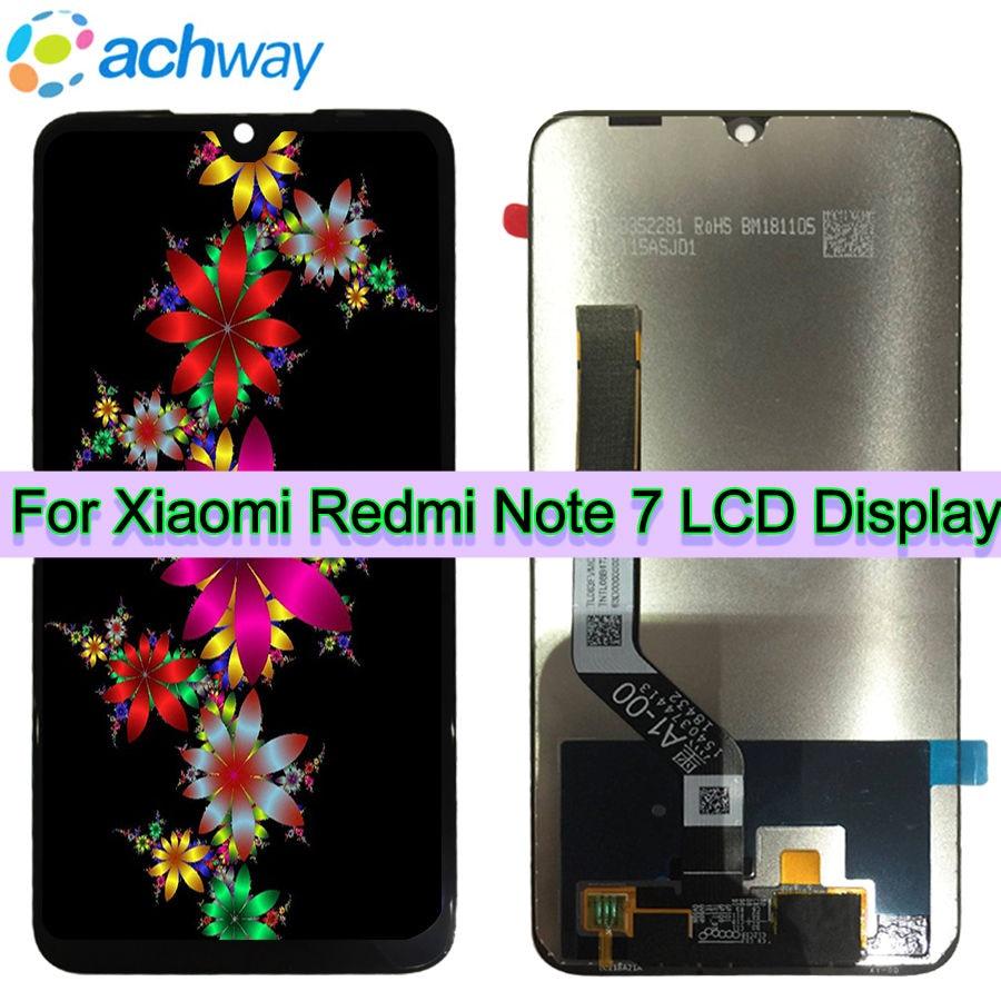 D'origine Xiaomi Redmi Note 7 écran LCD + ensemble numériseur à écran tactile Pour 6.3
