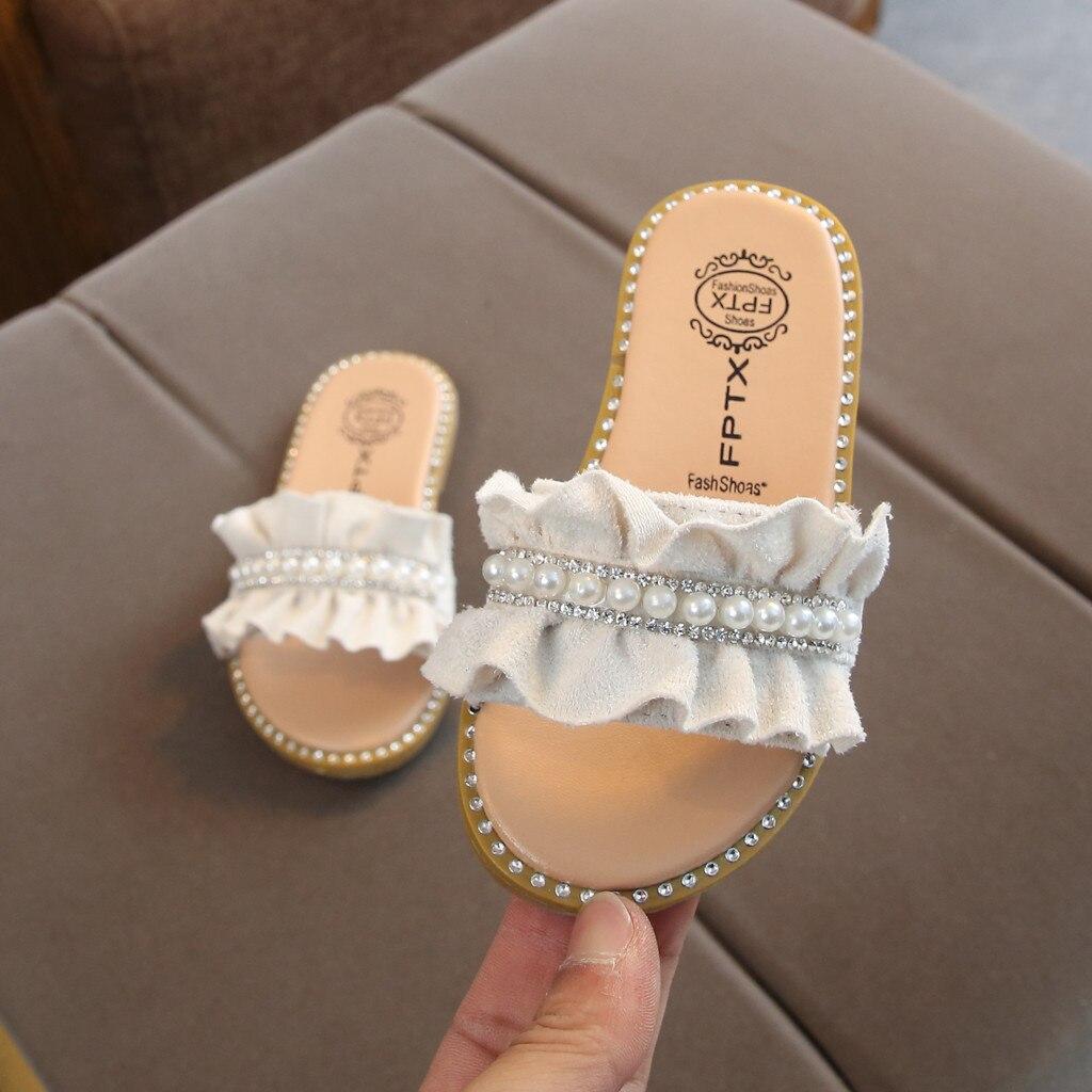 chinelos de bebê princesa casa flip flop