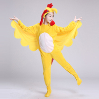 The new promotional children big rooster costumes and crazy chicken dance under adult cartoon costumes