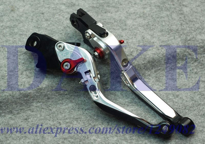 CNC Foldable Extendable brake clutch levers YAMAHA TMAX 530 TMAX530 2012-2014 2013 //Y NEW Freeshipping - DAKE store