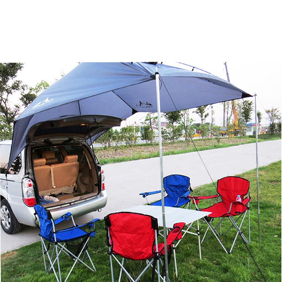 1pcs Portable Outdoor Camping Equipment Waterproof Large Awning Sun Shade Shelter Family Beach Picnic Party Camping Tent Marquee octagonal outdoor camping tent large space family tent 5 8 persons waterproof awning shelter beach party tent double door tents