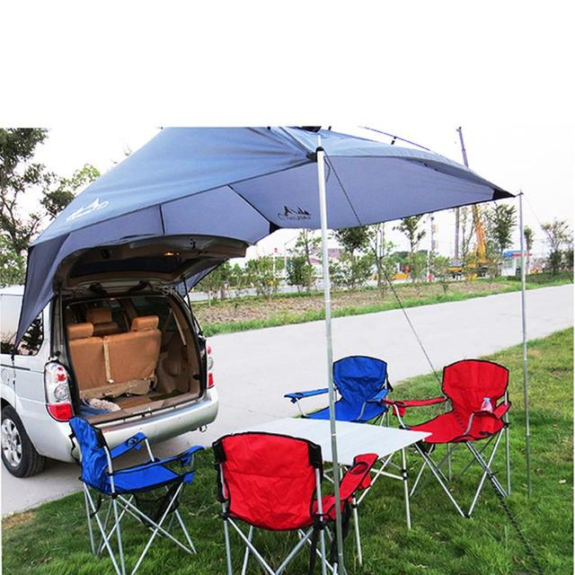 1pcs Portable Outdoor C&ing Equipment Waterproof Large Awning Sun Shade Shelter Family Beach Picnic Party C&ing  sc 1 st  AliExpress.com & 1pcs Portable Outdoor Camping Equipment Waterproof Large Awning ...