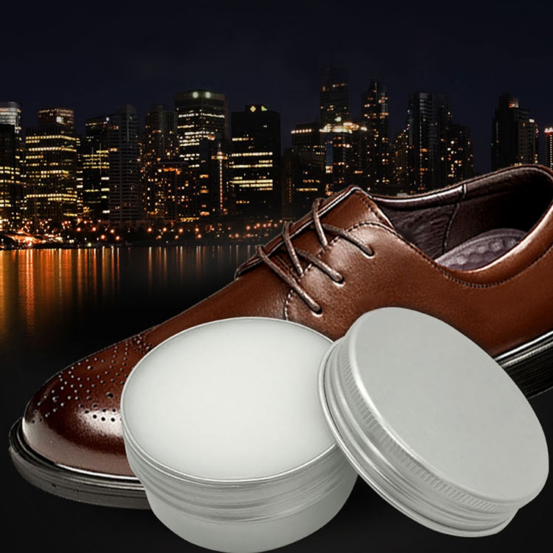 15/25/80/100G Mink Oil Care Cream Effectively Prevent Water For Smooth Leather Oil Skin Patent Wallets Shoes Sofas