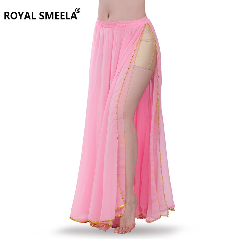 Image 4 - Hot Sale Free shipping New arrival belly dancing  training skirts belly dance costume practice dress & performance  6009skirt laceskirt cutskirt orange -