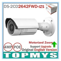English Version IP Camera DS 2CD2642FWD IZS 4MP HD 1080p Real Time Video POE Camera 2