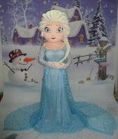 Hot sale Elsa mascot costume sale high quality adult elsa mascot costume free shipping