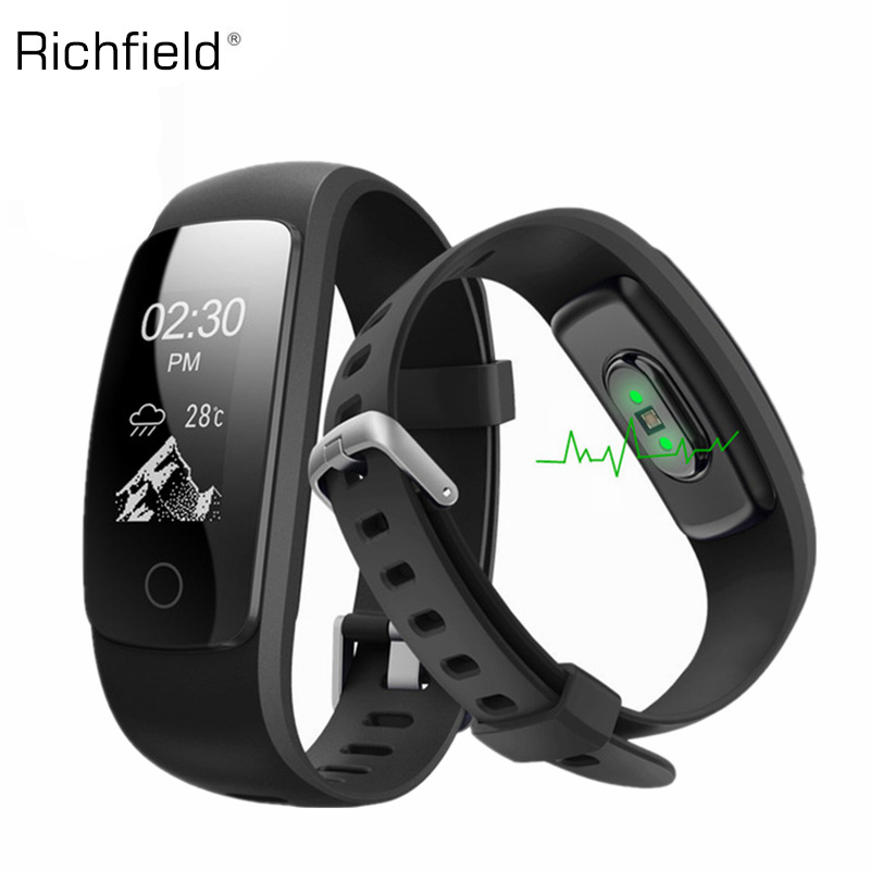 Smart Armband ID107 Plus HR GPS Herz Rate Monitor Pedometer Band Bluetooth Fitness Sport Tracker Für Android IOS Armband