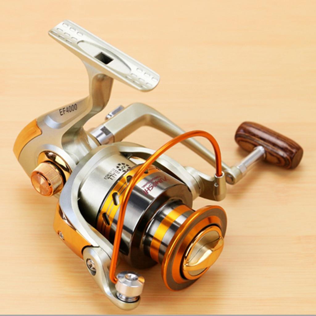 EF500-EF9000 Spinning Fishing Reel 12BB Metal Spool Folding Arm Left Right