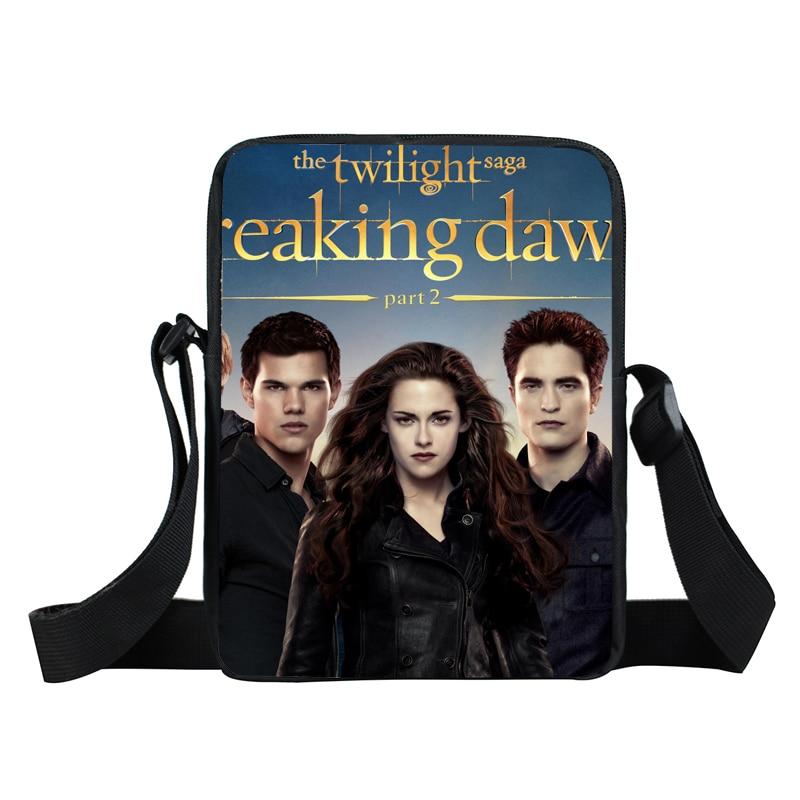 Twilight Mini Messenger Bag Men Women Casual Travel Portable Cross Bags Kids Toddlers Satchel Snacks Toys Bags Kid Gift
