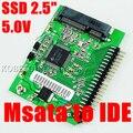 Mini PCI-e SSD msata 1.8 a IDE 2.5 pulgadas 5 V 44pin Adaptador de Tarjeta PCI Express Sata Convertidor msata Para El Ordenador Portátil Notebook