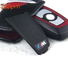2 PCS Motorsport M Performance Styling Key Trim 3D Car Sticker M Emblem Logo For BMW X1 X 3 X5 X6 M3 M5 325i 328 F30 F35 Series