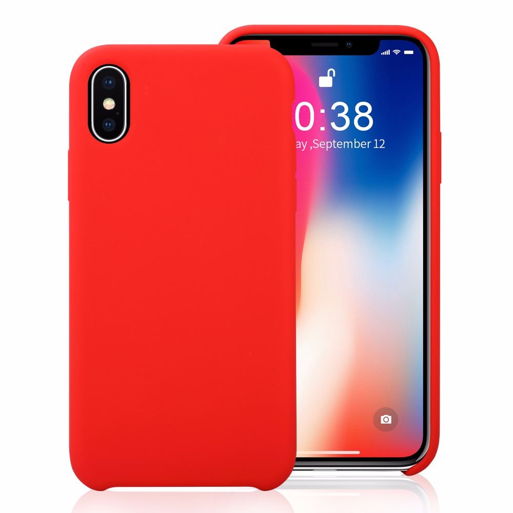 iphone X silicone Case 1