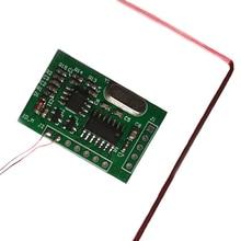 134.2 KHZ 동물 태그 읽기 모듈 EM4305 귀 태그 발 링 리더 모듈 UART (9600, N, 8, 1) 5V 25mA