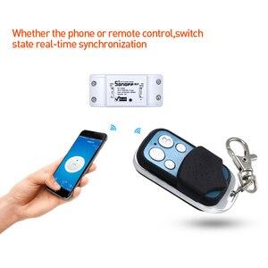 Image 4 - SONOFF 433mhz 4 כפתורים ערוץ RF Wifi אלחוטי מרחוק מפתח למידה עותק 4CH מפתח Fob בקרת עבור גוגל חכם בית בקר