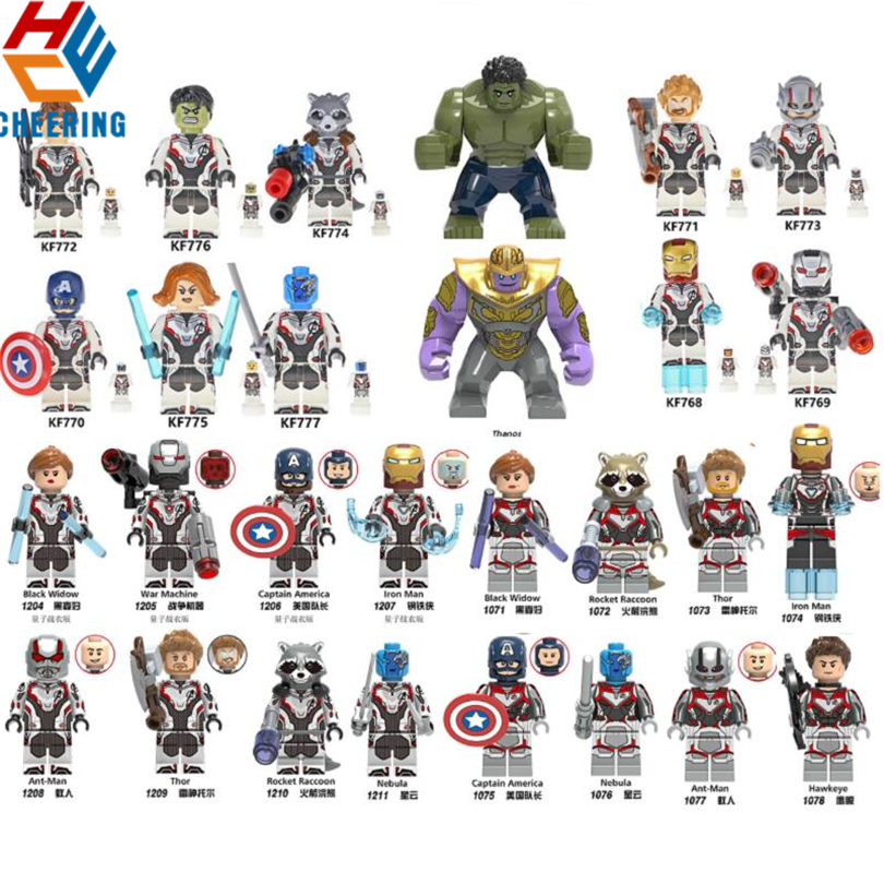 Marvel End Game Lego Moc Minifigure Gift For Kids MK8 Iron Man