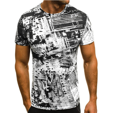 Summer T Shirt Men Military Printing O-Neck Top Tee Casual Fashion tee shirt homme Brand Fitness Tshirts Male Short Sleeve M-3XL Multan