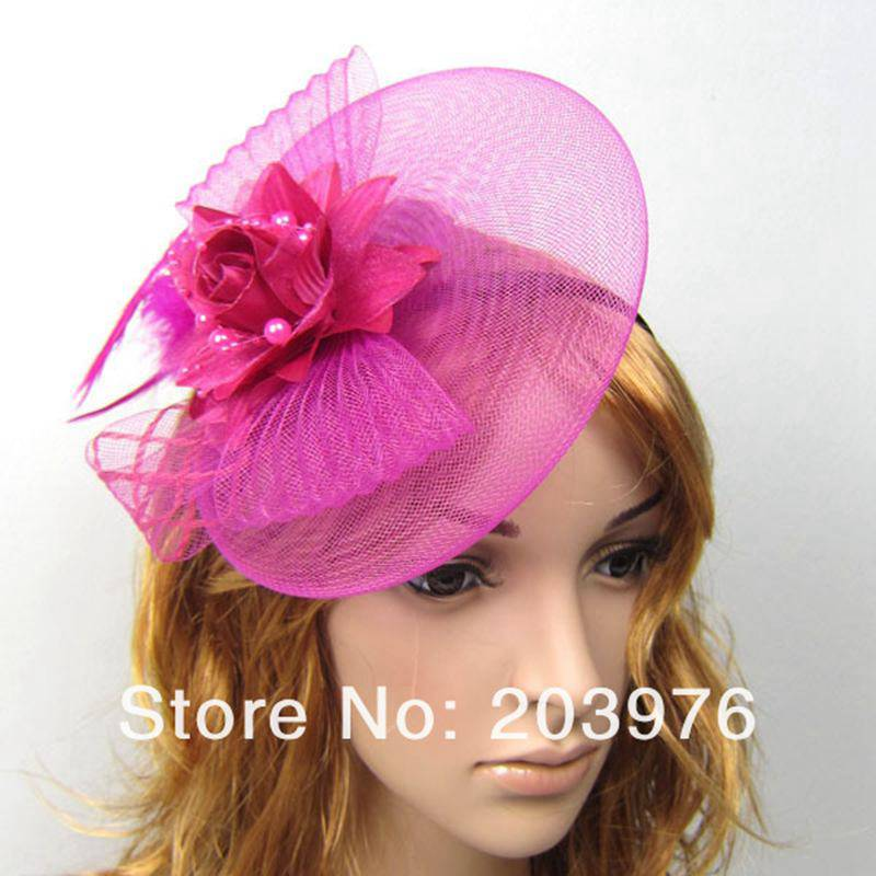 women fascinator cocktail hat for weddings or daily and party girls hair  accessories with headband  clip adf31ee229e