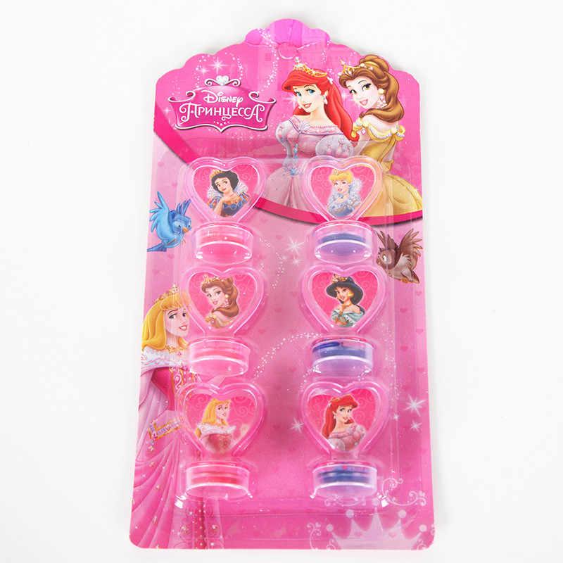 6pcs/set Princess Seal Stamp Children DIY Diary Decoration Painting Scrapbooking Decoration Party Supplies Gift