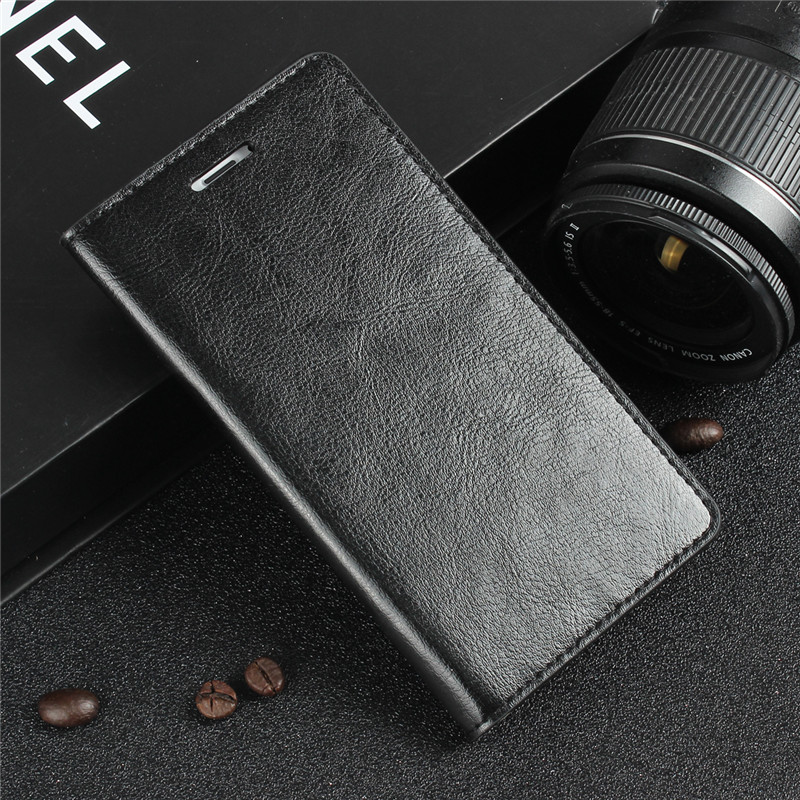 Crazy Horse Genuine Leather Case for iPhone 6 6s Plus Business Phone Bag Flip Cover for iPhone 6 6s 4.7″ Wallet Cover Phone Case