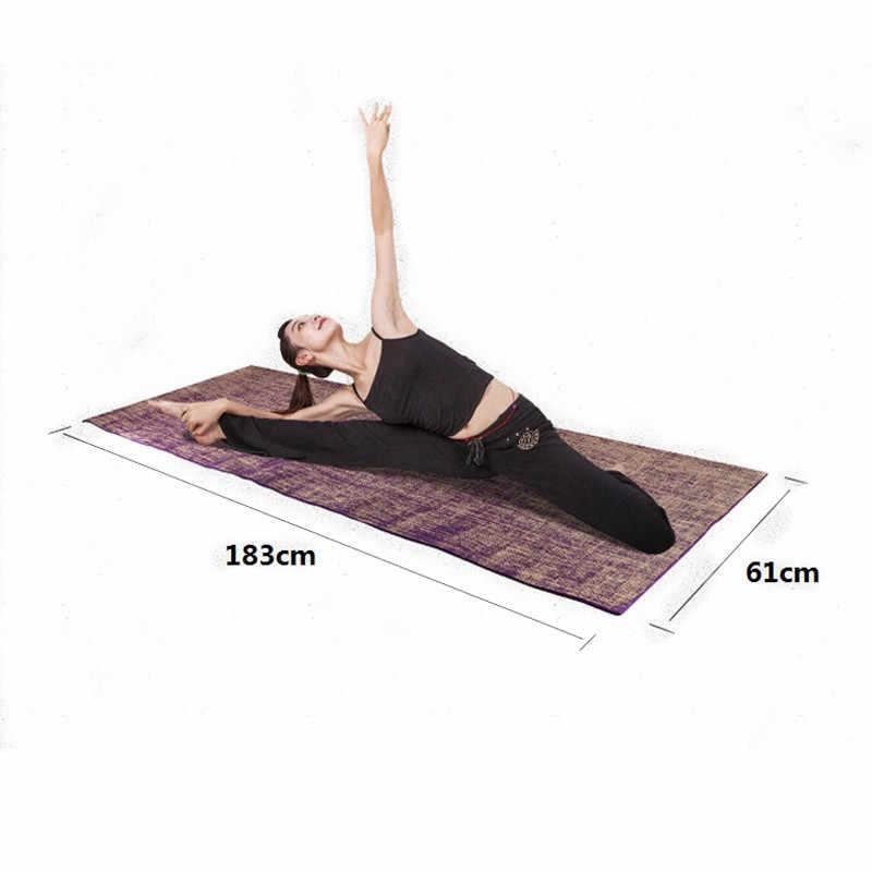 para el ejer Antideslizante Yoga Mat --- 8mm de espesor Ensanchado Antideslizante Protecci/ón del medio ambiente Estera de yoga Estera de gimnasia color opcional --- El caucho natural estera de yoga Color : 3
