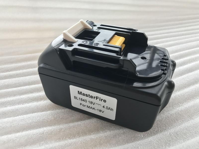 New Replacement Rechargeable Power Tools Batteries For Makita 18V 18 volt 4.0Ah 4000mAh BL1830 BL1840 LXT400 194205-3 Battery наушники dialog ep 40 проводные внутриканальные черный красный 20 гц 20 кгц двухстороннее mini jack 3 5 мм