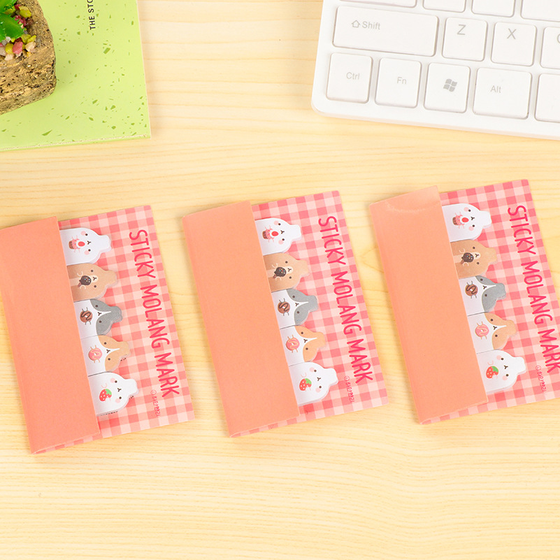 Rabbit Cute Kawaii Sticky Notes post Memo Pad School Office Supplies Planner Stickers Paper Cartoon Student Stationery papelaira