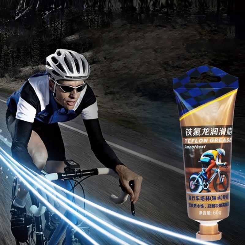 60g MTB/Road Bike Hub Bearing Grease Gun With Teflon Grease For Bicycle Bottom Bracket Grease Bike Accessory