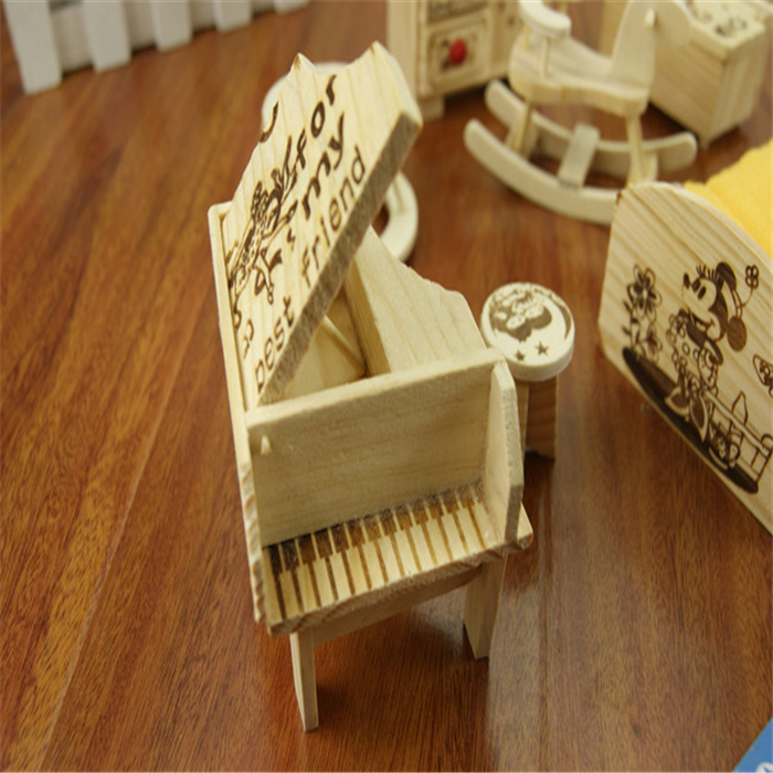 Wood Doll Stroller Wooden Thing
