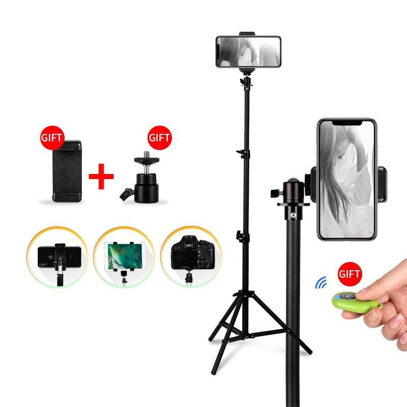1/4 Screw Head Universal Portable Aluminum Stand Mount Digital Camera Tripod For
