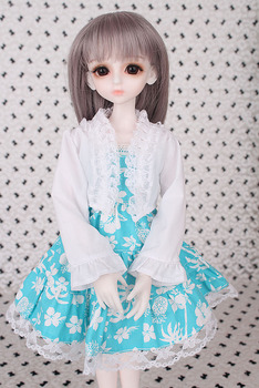 2018 New Arrival 1/3 1/4 1/6 1/8 BJD Doll Dress Clothes SD Volks Dod Sooms Ai Doll Lovely Dress Dolls Accessories