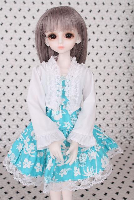 2018 New Arrival 1/3 1/4 1/6 1/8 BJD Doll Dress Clothes SD Volks Dod Sooms Ai Doll Lovely Dress Dolls Accessories