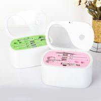 Familie Thuis Geneeskunde Borst Kabinet Gezondheidszorg Plastic Drug Ehbo Kit Opbergdoos Commode (met nail trim set)