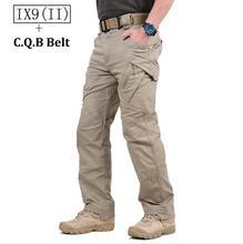 TAD IX9 (II) Pantalones Hombres de Combate Táctico Militar de Carga Al Aire Libre Caminata Soldie Tren Del Ejército Militar Pantalones Cazador Ocasional Pantalones de algodón