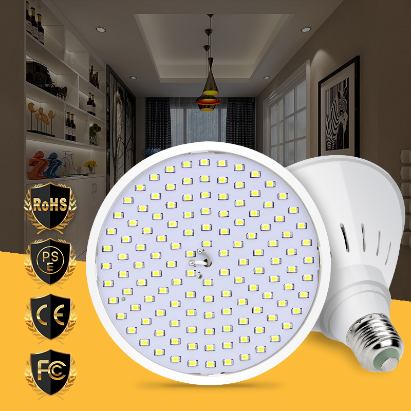 Led Bulb E27 Lamp 220V SMD 2835 Led Corn Light 110V Ampul No Flicker Spotlight 15W 20W Living room Decoration Light 126 200leds