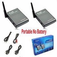 BX 501 Portable Universal 2.4G Wireless Speaker Hi Fi Digital Stereo Audio Music Sender Transmitter + Receiver Set Out Door 50m