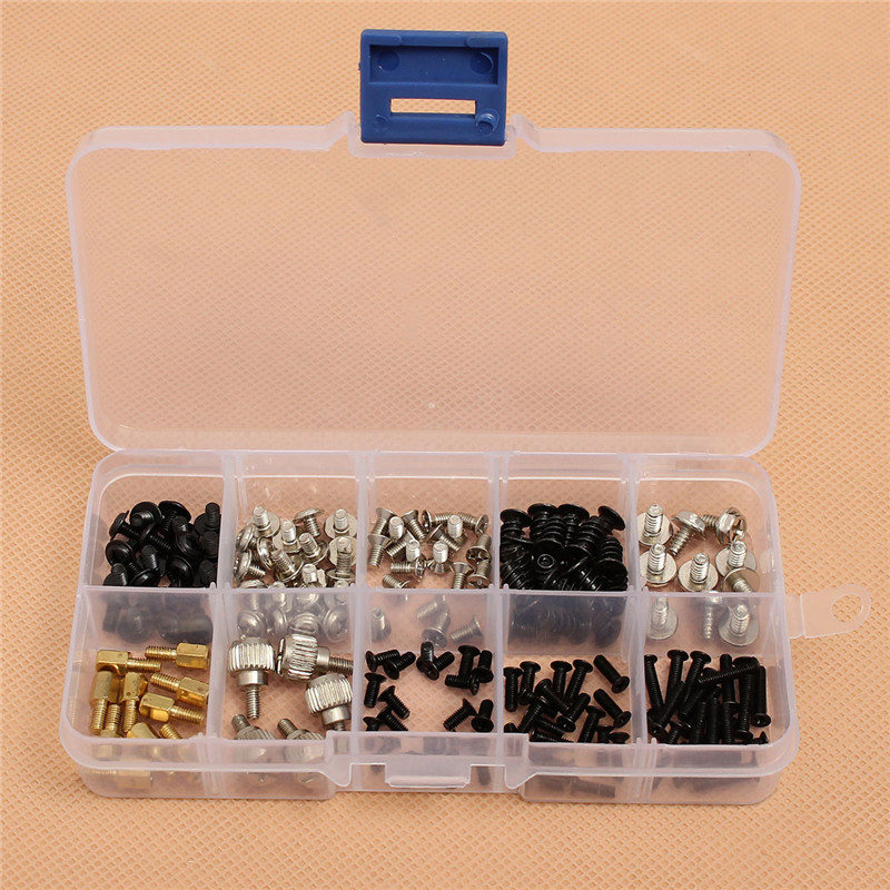 MTGATHER 165pcs Computer Screws Kit For Motherboard PC Case CD-ROM Hard Disk Notebook Application For PC Maintenance New Arrival annie altamirano our discovery island 3 teacher s book access code