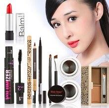 Beauty Hot Professional Makeup Set Eyeshadow Palette Eyelashes Brush Comestic Mascara Eyeliner Pen kit maquiagem