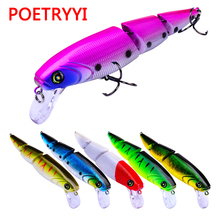 POETRYYI Whopper Popper11.3cm 15g Topwater Fishing Lure Artificial Bait Hard Plopper Soft Rotating Tail Tackle Geer 30